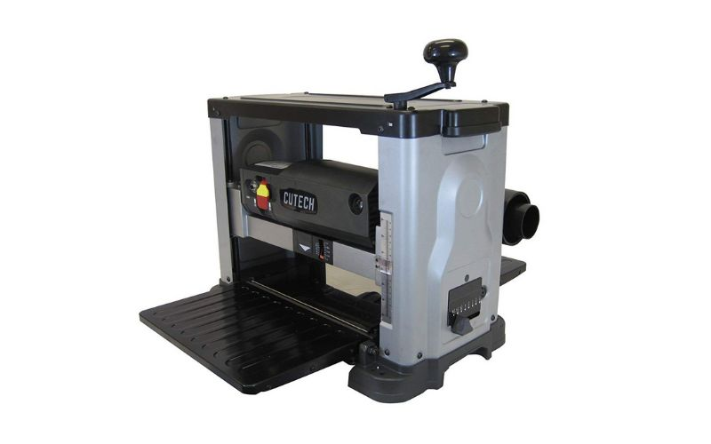 Cutech 40600H-CT portable benchtop wood planer