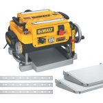 Dewalt DW735X portable wood planer