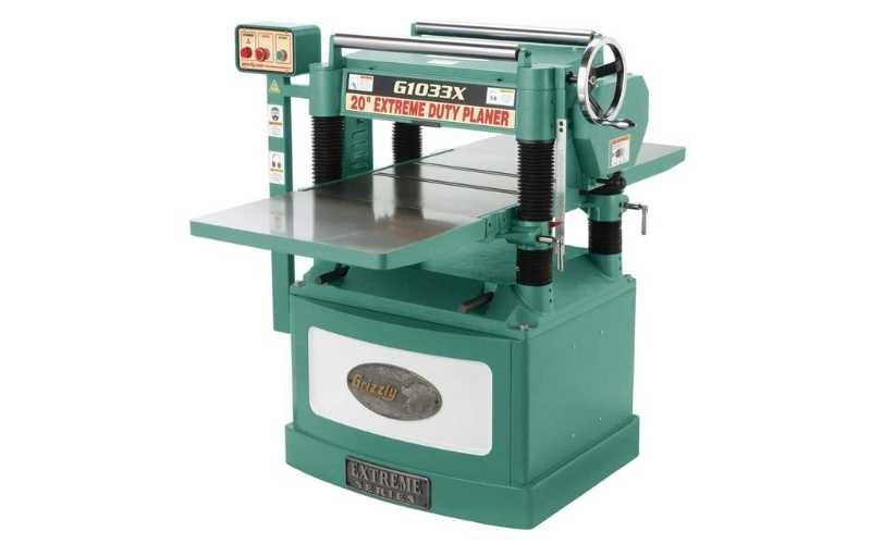 grizzly G1033X industrial wood planer