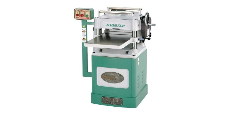 Grizzly G1021X2 thickness planer