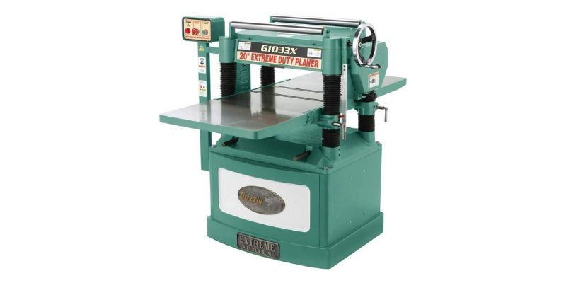 Grizzly G1033X industrial thickness planer