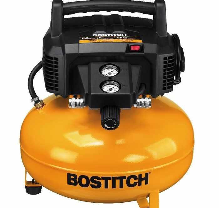 Bostitch BTFP02012 6 gallon air compressor