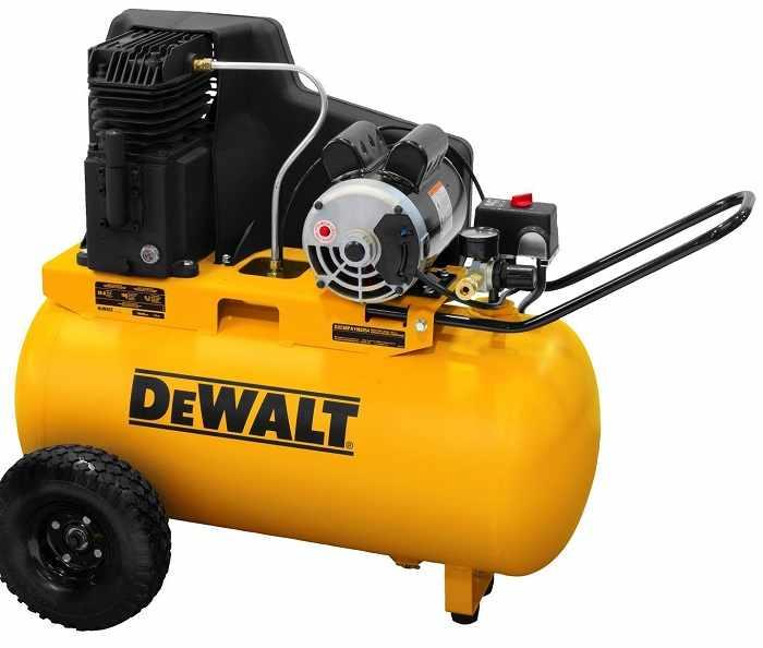 DeWalt DXCMPA1982054 20 gallon air compressor