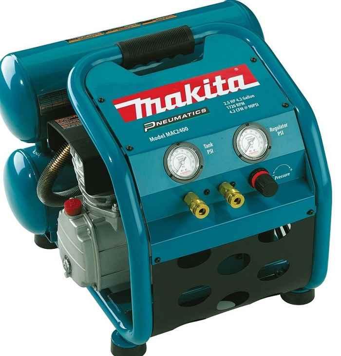 Makita MAC2400 4.2 gallon air compressor