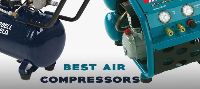 Top 10 best air compressors and how you can choose the best