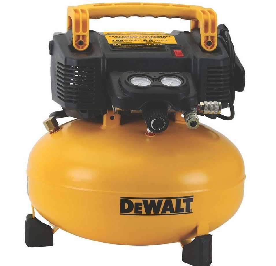 Dewalt 6 gallon air compressor