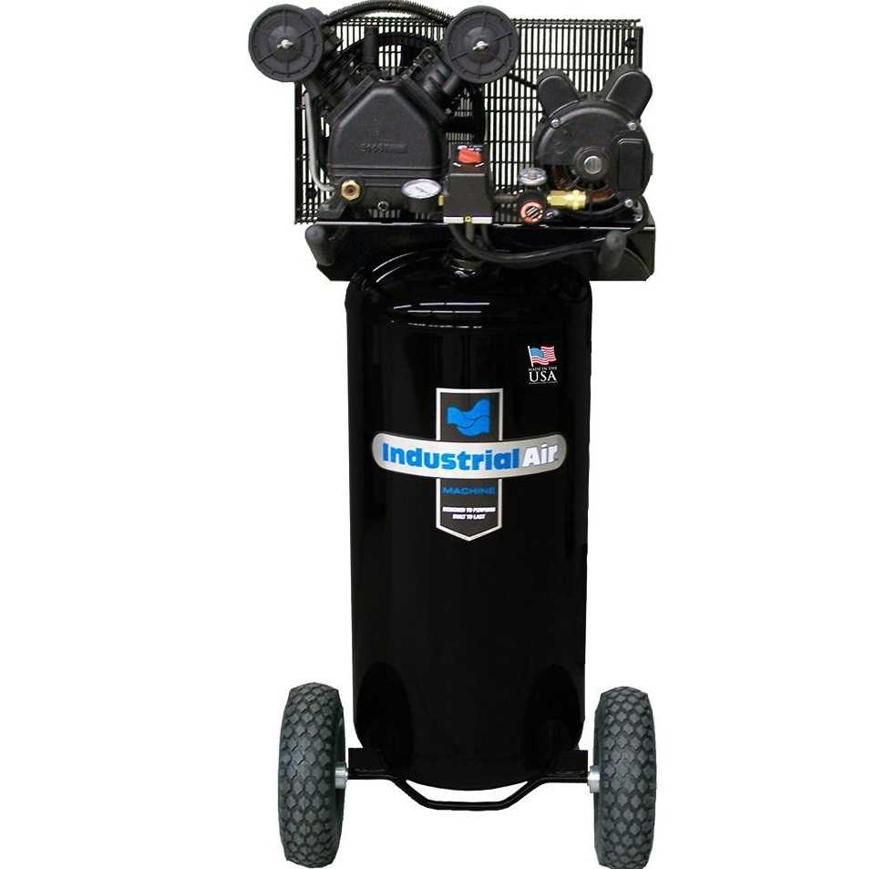 Industrial air portable 20 gallon air compressor