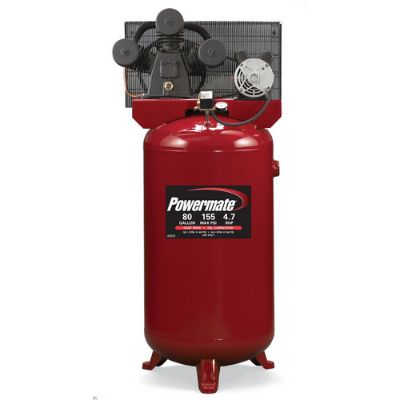 powermate vx 80 gallon air compressor
