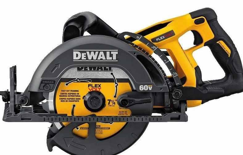 Dewalt DCS577B cordless worm drive circular saw