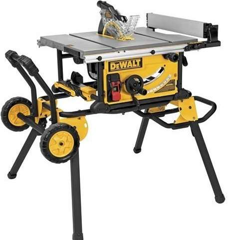 Dewalt dwe7491rs portable jobsite table saw