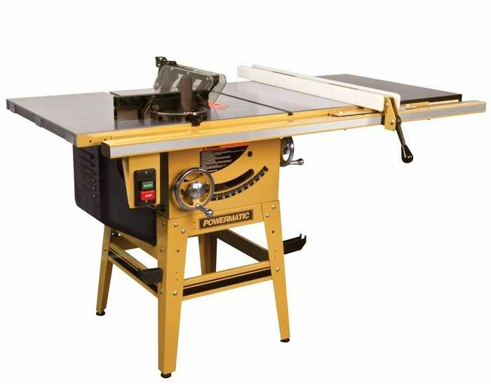 powermatic 1791230K contractor table saw