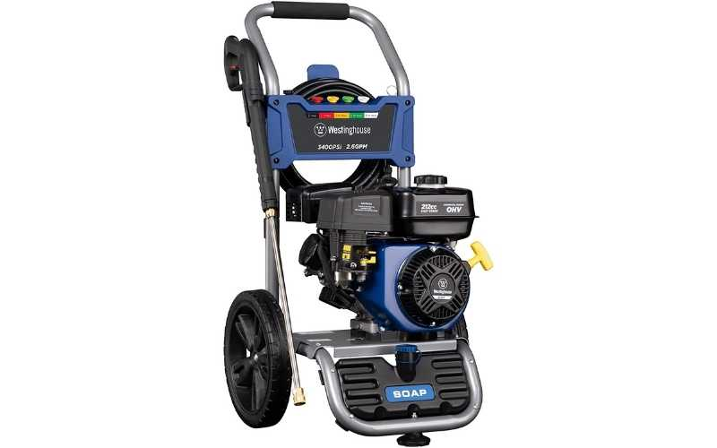 Westinghouse WPX3400 gas pressure washer