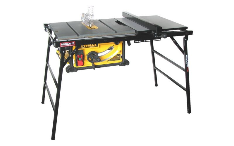 Rousseau portable table saw stand
