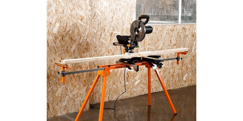 tacklife folding miter saw stand