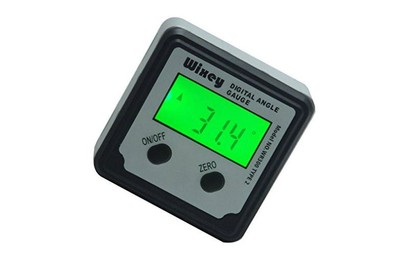 wixey digital angle gauge table saw accessory