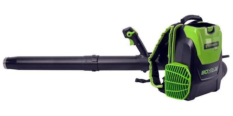 greenworks pro electric backpack leaf blower