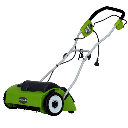 Greenworks 14 inch 10 Amps Corded Dethatcher