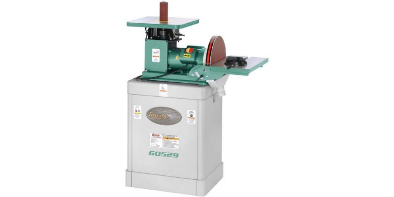 Grizzly Industrial G0529 oscillating spindle sander