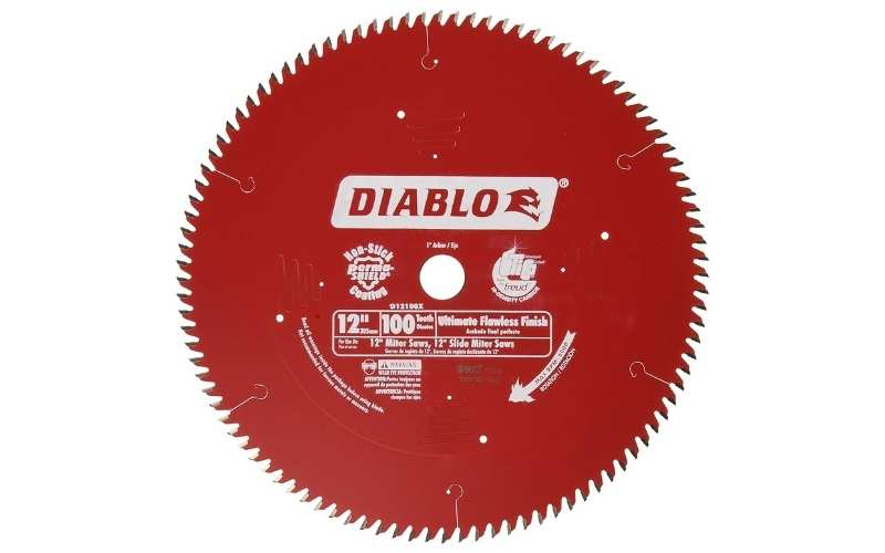 100 tooth Diablo blade for miter saw