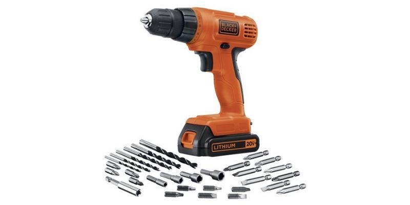 Black+Decker LD120VA cordless drill