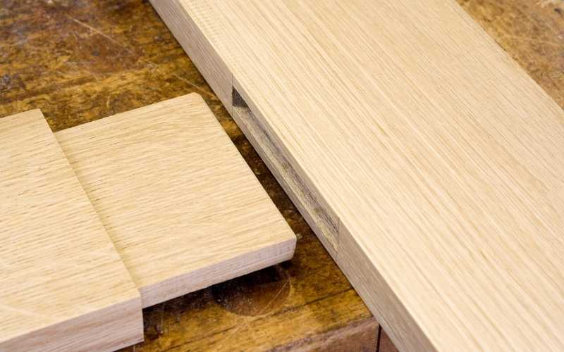 cut mortise and tenon joints