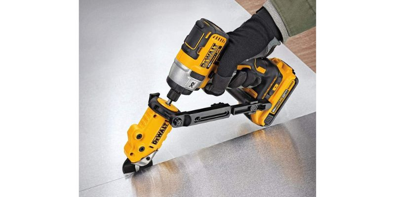 dewalt metal shears attachment
