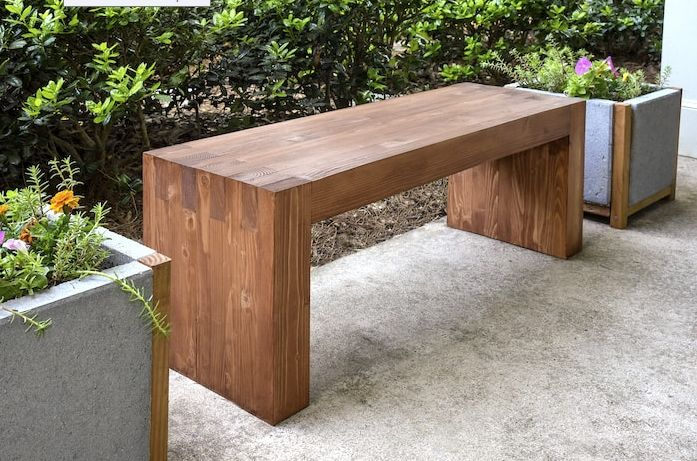 diy outdoor bench from diycandy compressed