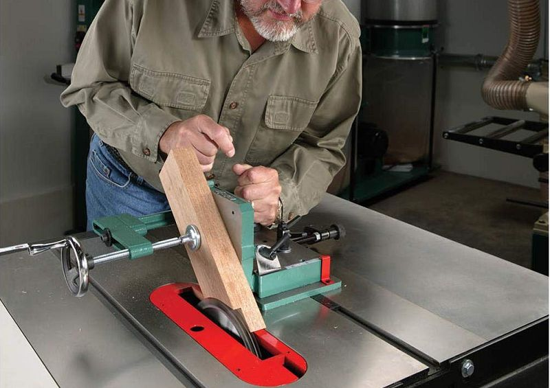 grizzly table saw tenoning jig