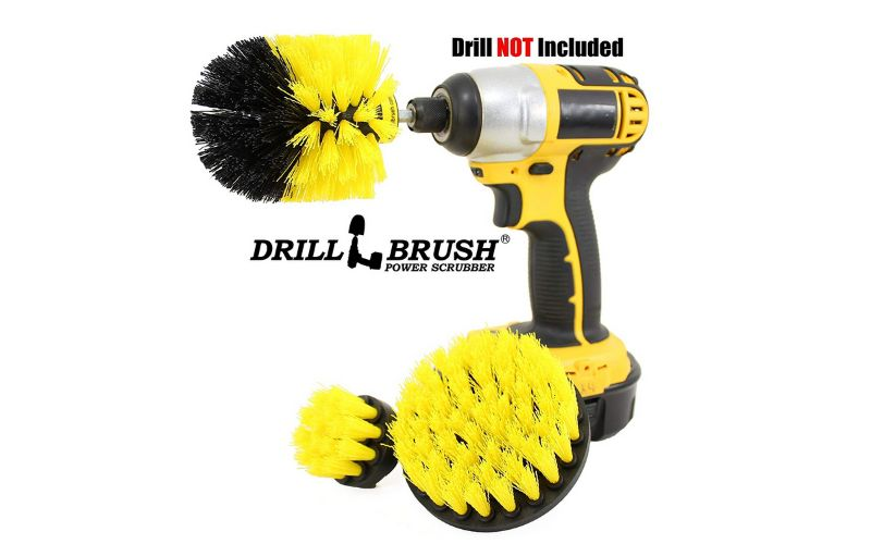 cordless drill brush