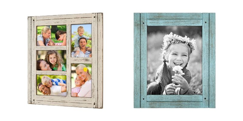 scrap wood accent picture frame