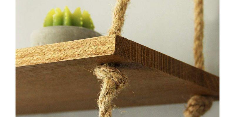 scrap wood hanging shelf