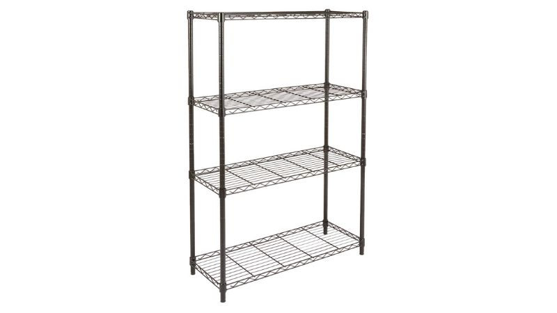 Amazon basics garage shelf metal wire rack