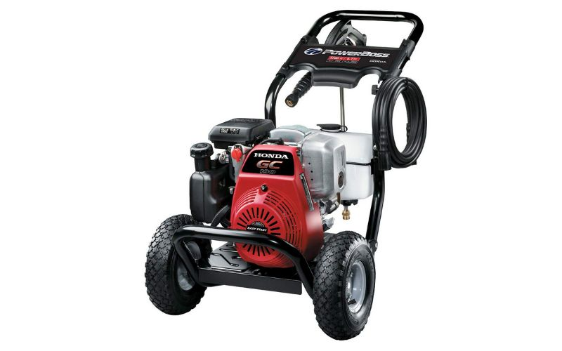 power boss pressure washer with honda engine