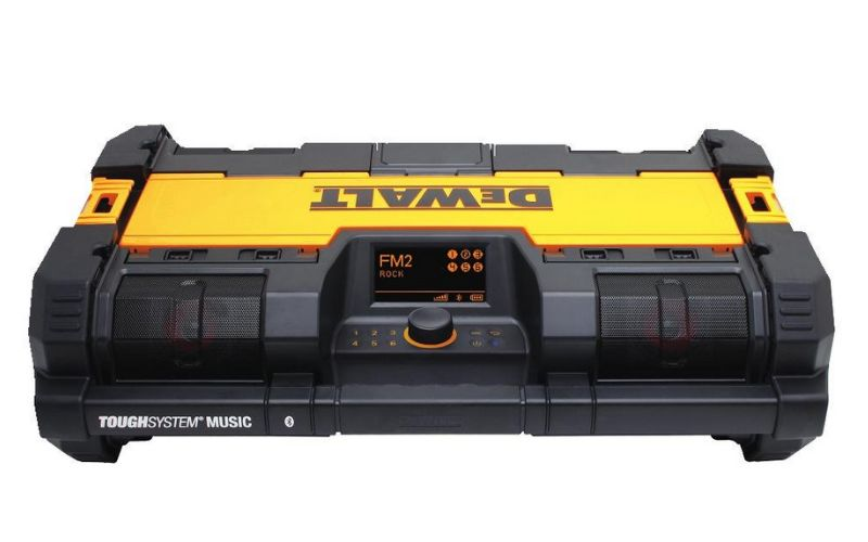 dewalt tough system radio player