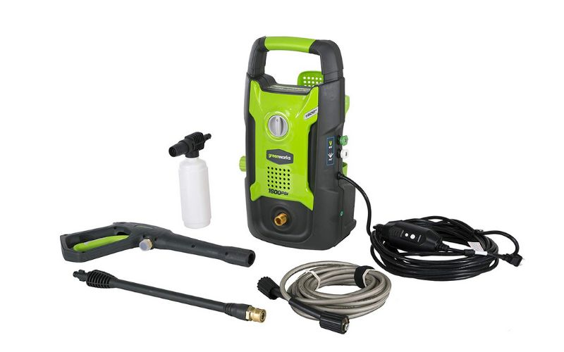 greenworks gpw1602 pressure washer