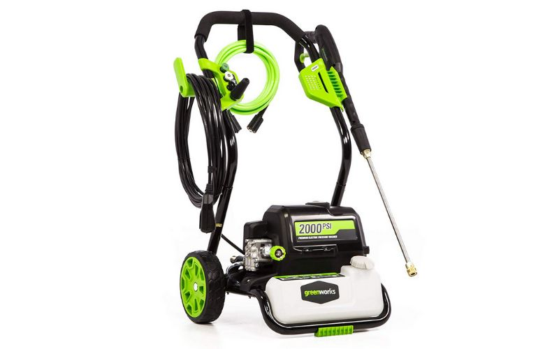 Greenworks GPW2000 electric pressure washer