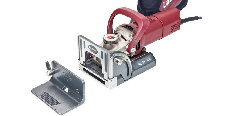lamello adjustable cutter height biscuit joiner
