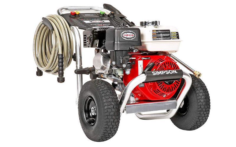 simpson ALH3425 honda powered pressure washer