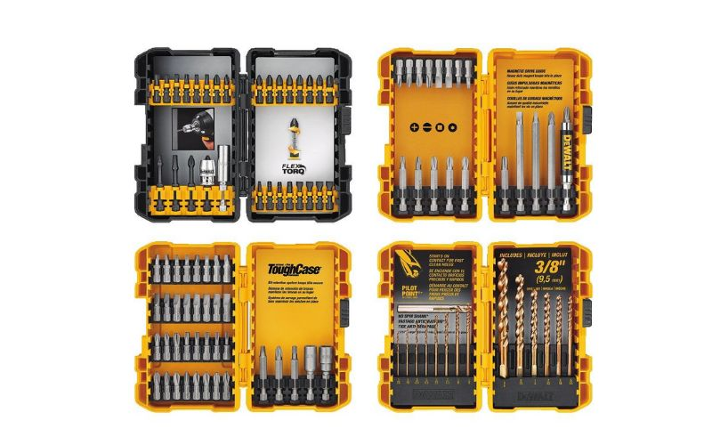 100 piece screwdrive and drill bit set