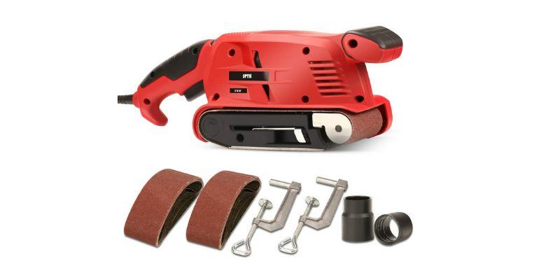 belt sander tool for woodworking