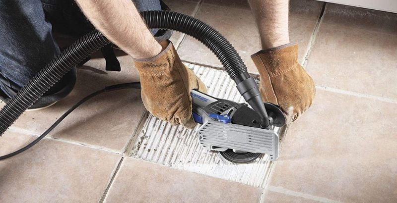 cutting tiles with the dremel ultra saw