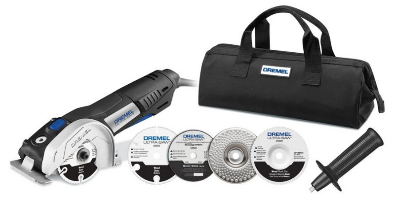 the dremel ultra saw and accessories
