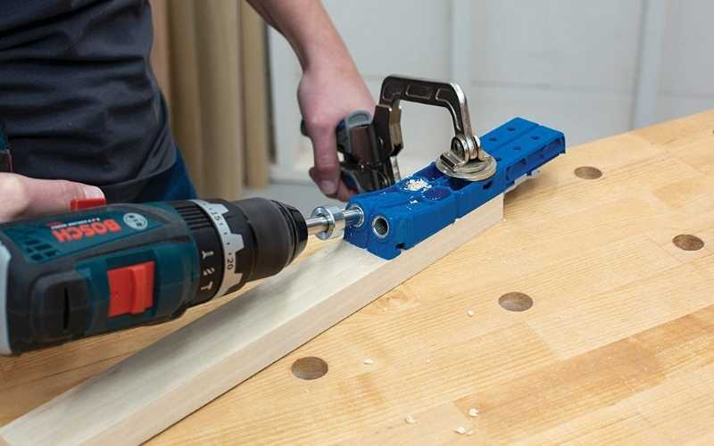 woodworking pocket hole jigs