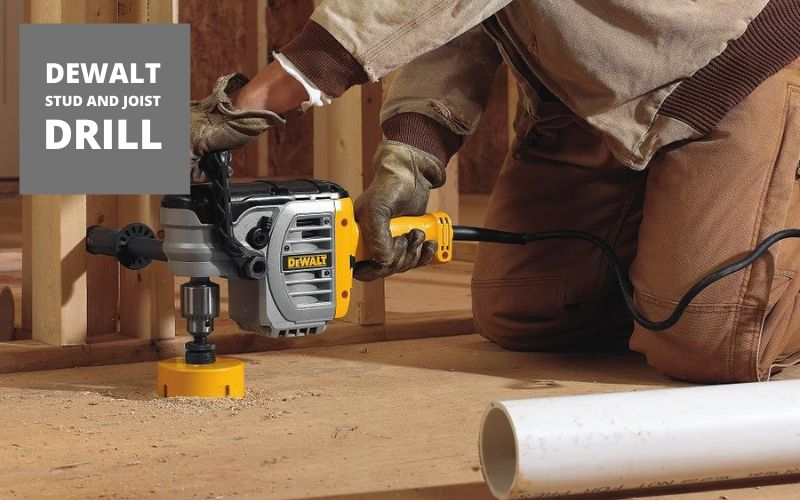 the dewalt stud and joist drill review