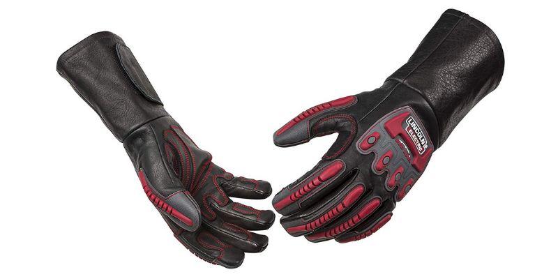 impact resistant welding gloves