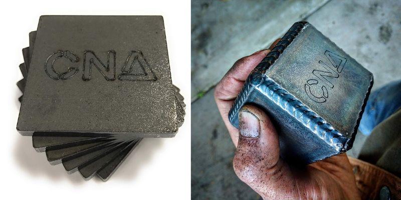 steel cube welding kit