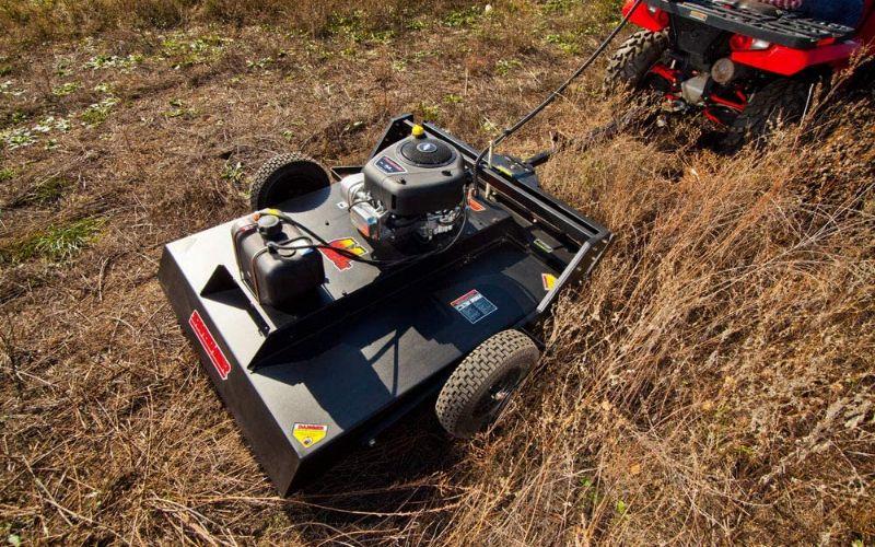 tow behind mower