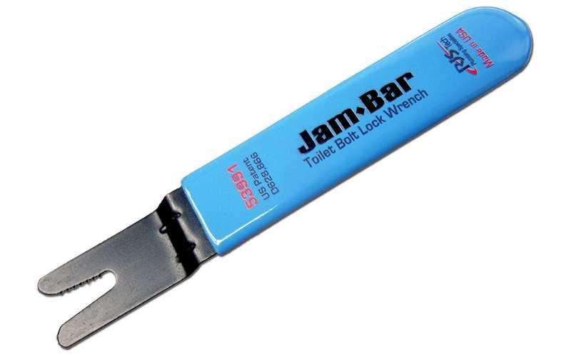 jam-bar toilet bolt wrench