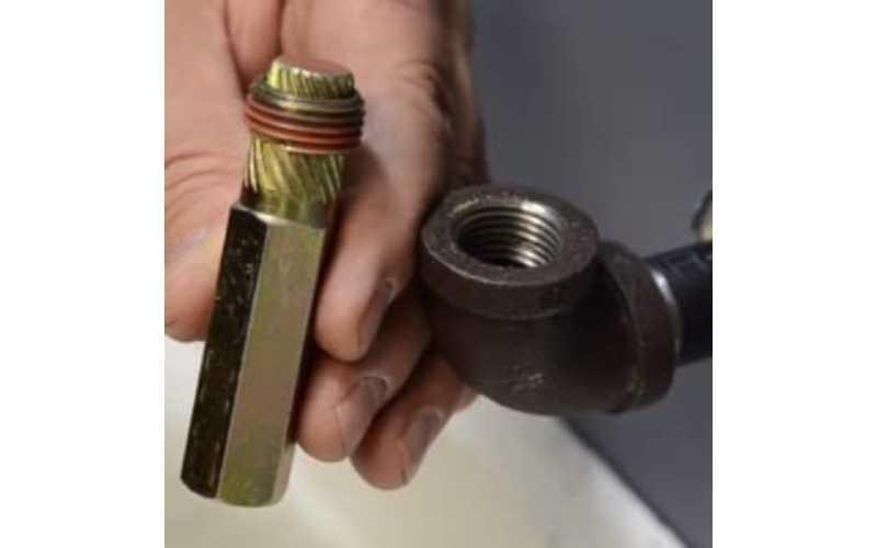 plumbing nipple extractor