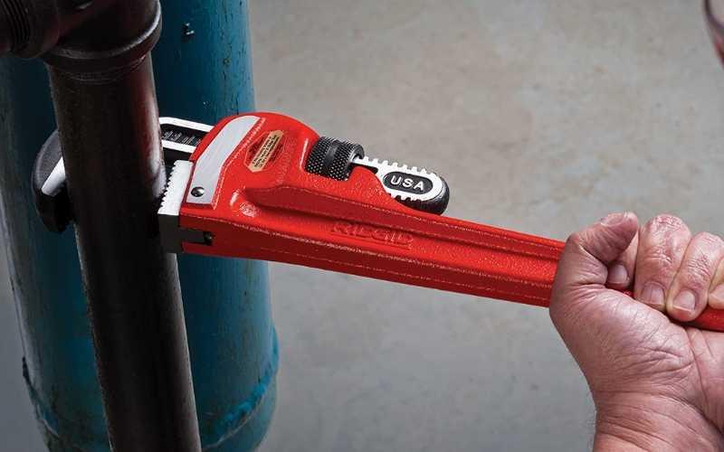 plumbing straight pipe wrench